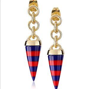 "Noir Jewelry ""Memphis"" Alchymia Layered Earrings"